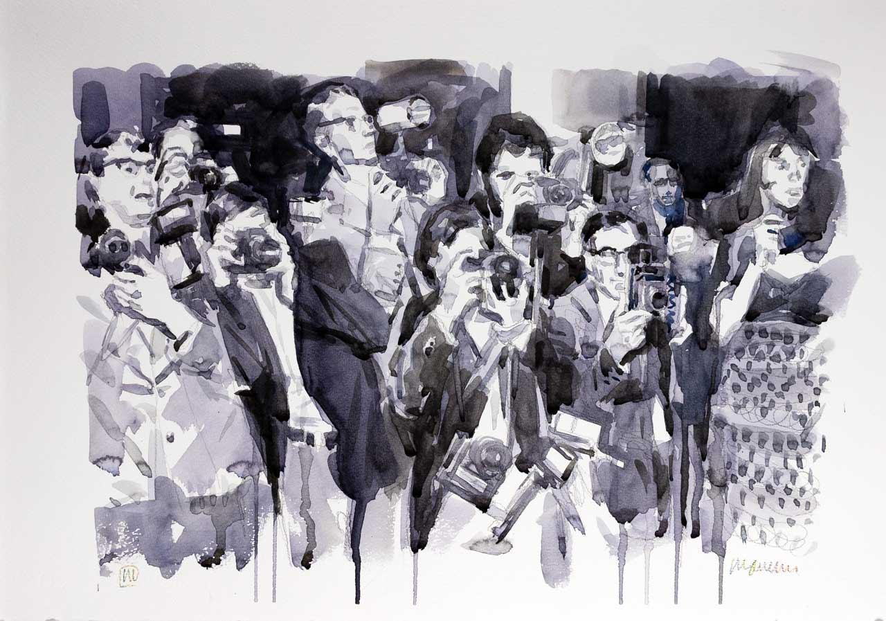 paparazzi-2018-watercolor-50x35-cm