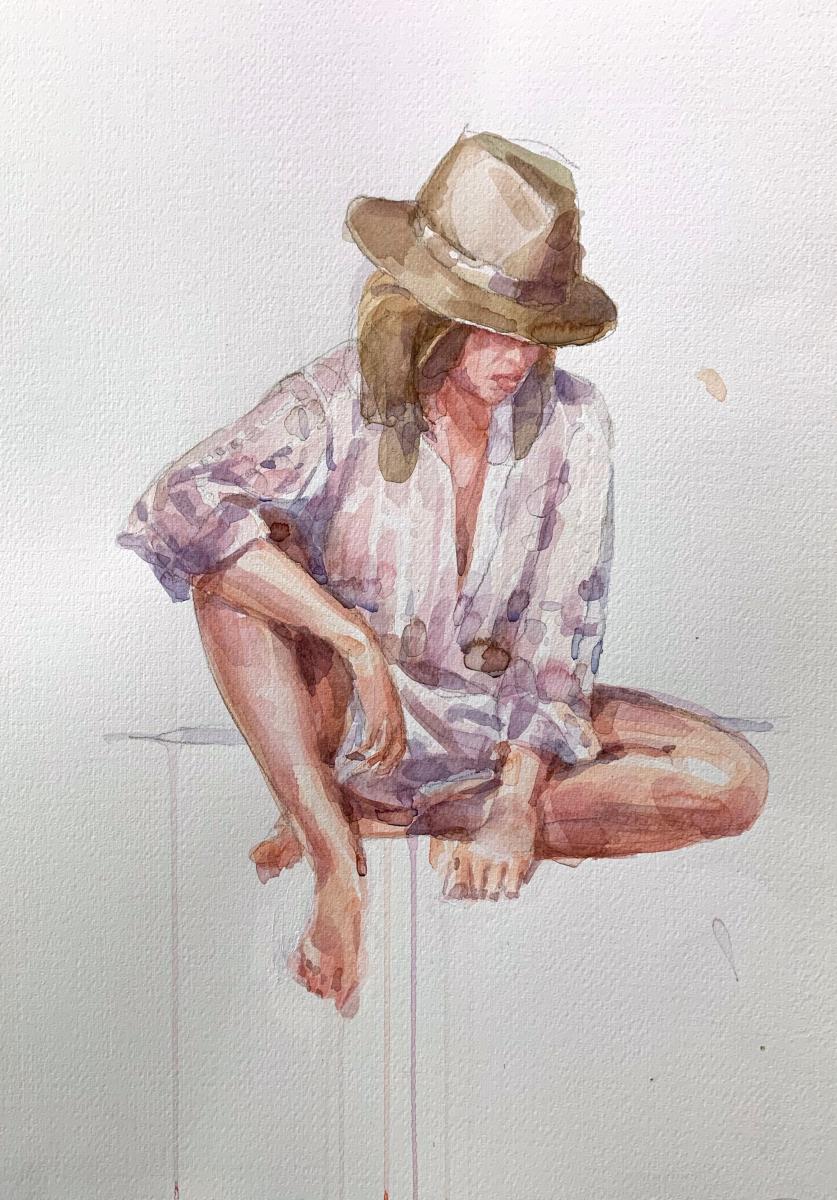 Stefania, 2009, watercolor, 50x35 cm