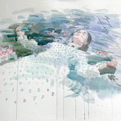Ophelia, 2013, watercolor, 50x35 cm