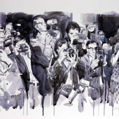 paparazzi-2018-watercolor-50x35-cm